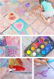 easy art ideas watercolor on tile babble dabble