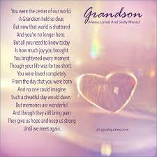 Grandson Quotes Adorable Grandson Birthday Card Sayings Karamanaskforg