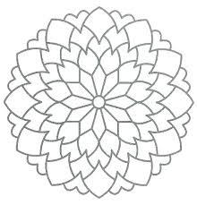 Mandala Coloring Pages Easy Pjlibraryradioinfo