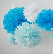 Tissue Balls Party Decorations Amazon 100pcs White Tissue Hanging Paper Pompoms Hmxpls 41