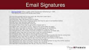 Email Signature Quotes Impressive Email Signatures For Business