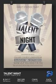 Talent Show Poster Designs Make Show Flyers Omfar Mcpgroup Co