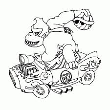 Kleurplaat Mario Toadet Inside Kleurplaat Mario Kart 8 Kleurplaat