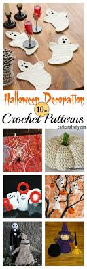 Crochet Decoration Patterns 10 Halloween Decoration Free Crochet Patterns