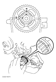how to set the timing on a toyota tercel timing belt thumb