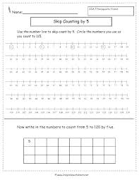 Free Skip Counting Worksheets Grade 2 Count By 5 And For ...