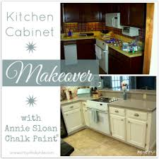 annie sloan chalk paint kitchen cabinets cabinet makeover painting with laminate also black before and after