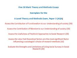 research methods essays how to write them revisesociology