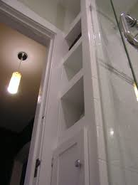 12 Inch Wide Bathroom Floor Cabinet Narrow Built In Shelves Are Only 12 Wide But Pack A Ton Of