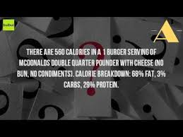 how many carbs are in a double quarter pounder with cheese no bun