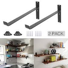 iron shelf brackets metal wall shelves