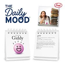 Emoji A Day A Daily Mood Flip Chart The Daily Mood Desk Flip Chart Makes An Amazing Gift For All