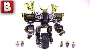 LEGO Ninjago Movie Quake Mech Set 70632 | Unbox Build Time Lapse Review -  YouTube