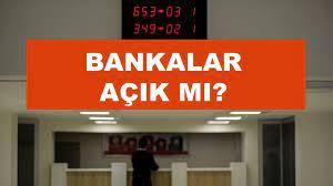 Pazartesi bankalar açık mı kapalı mı? - SonHaberler