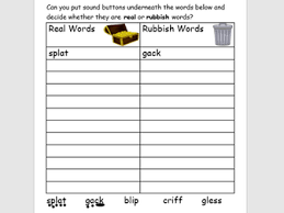 Worksheet will open in a new window. Real And Alien Rubbish Words 14 Phonics Worksheets Phase 2 3 4 And 5 Graphemes Teaching Resources