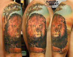 276 фото и эскизов тату лев что значит татуировка льва