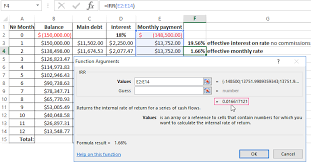 When you create a graph that includes dates, excel 2013 automatically spaces the data in chronological order. Calculation Of The Effective Interest Rate On Loan In Excel