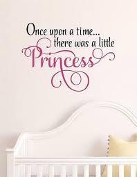 once upon a time princess vinyl decal