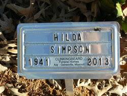 Hilda L Carter Simpson (1941-2013) - Find A Grave Memorial