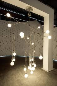 lighting installation by lindsey adelman at nike s the nature of motion exhibition in milan