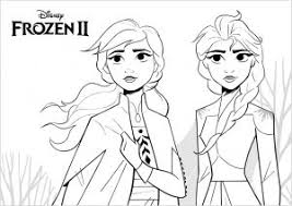 After watching the sequel frozen ii with the kids during the new year, although the main characters are the same with elsa, anna, kristoff, olaf, sven, i thought it would be nice to have. Frozen 2 Free Printable Coloring Pages For Kids