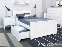 kids single bed with storage. Simple With White Kids King Single Storage Bed U2013 Fantastic Timber Frame Intended With O