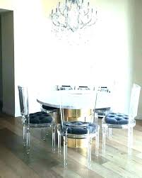 round dining table set legs and chairs acrylic magnificent chair nail setup in