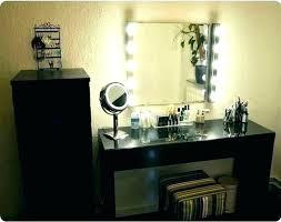 vanity with lights around mirror vanity lighted mirror light up mirrors with lights around medium size
