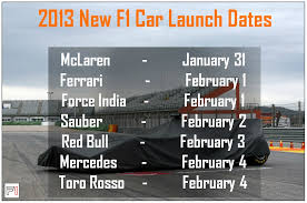 new car release in india 2013Formula 1  the whole earth blog