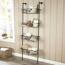 wire wall shelf for bathroom kitchen rack wire wall shelf