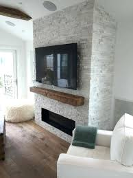 stacked stone arctic white panels prev fireplace