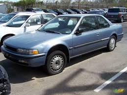 1990 Laurel Blue Metallic Honda Accord LX Coupe #10681301 ...