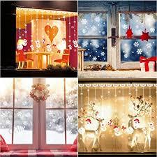 Schneeflocken Aufkleber Tedgem Schneeflocken Fensterbild
