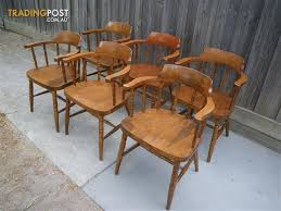6 european wooden captain chairs dining table chairs seats