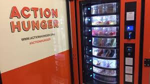 Vending Machine Uk Awesome UK Action Hunger Installs Vending Machine For Homeless People