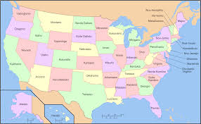 map of the united states in esperanto  brilliant maps