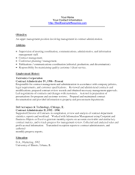 Construction Contract Administrator Resume Sample Top 24 Construction Contract Administrator Resume Samples 14