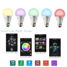 iphone controlled lighting. Tomshine Bluetooth Smartphone Controlled Dimmable Color Changing Lamp LED RGBW Smart Light E27 Bulb For IPhone \u0026 IPad Android-in Bulbs Tubes From Iphone Lighting T
