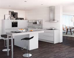 Global Küche 52 180 Inselküche in Resopal grau