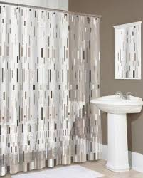 ... Beautiful Decoration Contemporary Shower Curtains Homely Ideas Modern  Curtain For Comfortable Bathing Session Bathroom ...