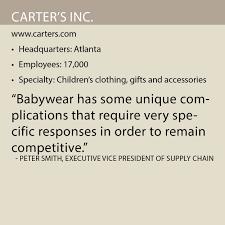 Carters Inc Carters Inc Supply Chain World