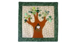 Owl mini quilt tutorial with FREE PATTERN by Lisa Pay - YouTube &  Adamdwight.com