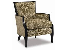 Sam Moore Nadia Upholstered Exposed Wood Accent Chair Baer s