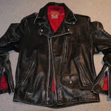 vintage indian matchless leather motorcycle jacket