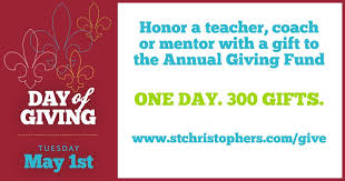 St. Christopher's Day of Giving 2018 · GiveCampus