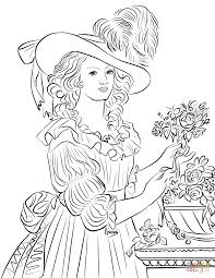 Marie Antoinette Coloring Page Free Printable Coloring Pages