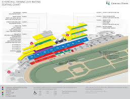 Churchill Downs Louisville Ky Seating Chart