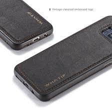luxury leather strap shockproof back case cover for