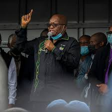 But if zuma had never separated from the second stage, it would have been also dragged to its demise. Jacob Zuma Former South African President Is Arrested The New York Times