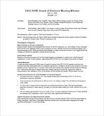 board of directors minutes of meeting template board of directors meeting minutes template 9 free sample